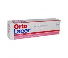Lacer orthodontic OrtoLacer Strawberry Toothpaste Gel 75 ml