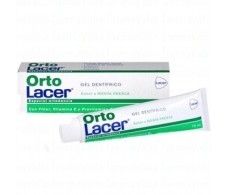 Lacer OrtoLacer Gel Dentífrico ortodoncia menta 75 ml