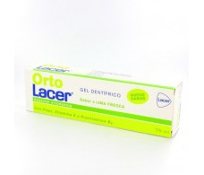 Lacer OrtoLacer Gel Dentífrico ortodoncia lima fresca 75 ml