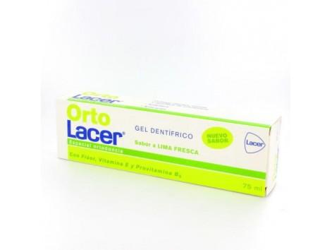 OrtoLacer Lacer Orthodontic Dental Gel 75 ml fresh lime