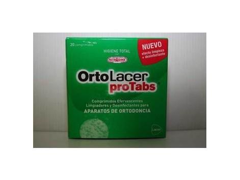 Lacer OrtoLacer proTabs ortodoncia 20 comprimidos