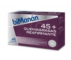 BiManán 45+ Quemagrasas reafirmante 48 cápsulas