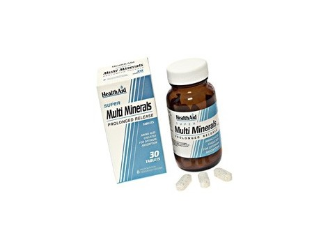 Multimineral 30 Tablets Health Aid