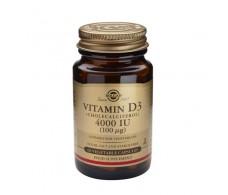 Solgar Vitamina D3 4000UI (100mcg) 60 caps