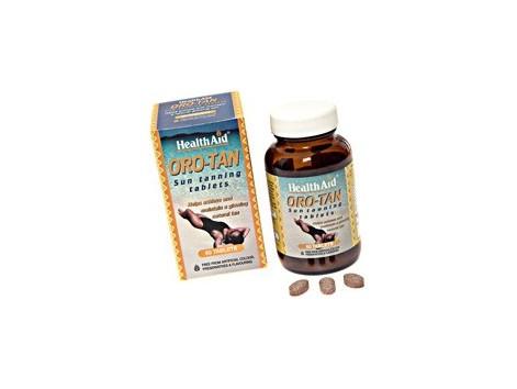 Health Aid Gold - Tan 60 tablets. HealthAid tanner