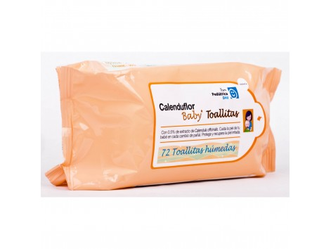 DHU calendula Wipes 72 units