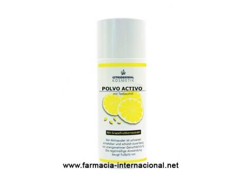 Active grapefruit and tea tree oil 100g powder. Antifungal