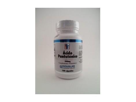 Douglas Pantothenic Acid 500mg 100 capsules