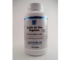 Douglas Aceite de Lino Orgánico 100 perlas