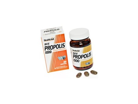Health Aid Propolis 1000. Propolis 1000mg. 60 tablets