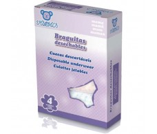 Visofar Disposable Briefs 4 units