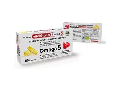 VitalGrana Pharma Omega 5 60 cápsulas
