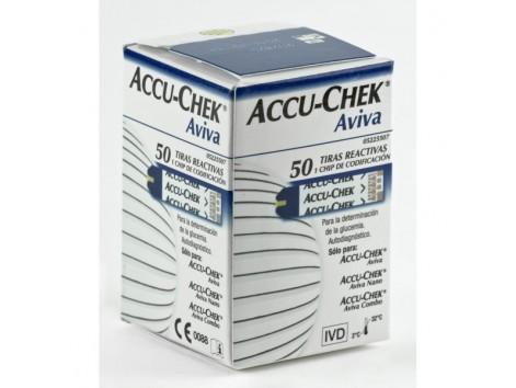Accu-Chek Aviva strips 50