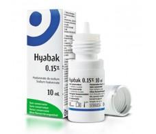 Hyabak eye drops 10ml