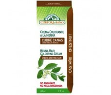 Corpore Sano Henna Colouring Cream 60ml Brown