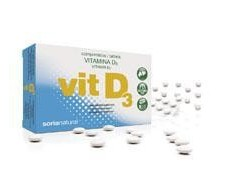 Soria Natural Vitamin D3 retard 48 tablets