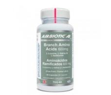 Airbiotic Aminoácidos Ramificados 600 mg 60 cápsulas