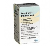 Roche Accutrend Triglicéridos 25 tiras