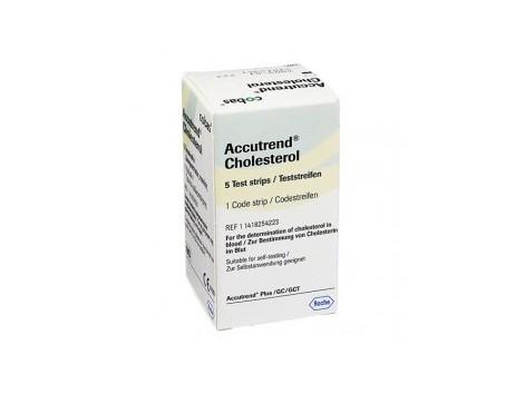 Roche Accutrend Colesterol 25 strips
