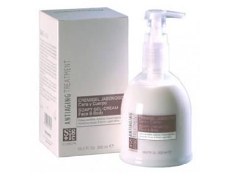 Soapy cremigel Homeosan Segle Gesicht und Körper 300ml