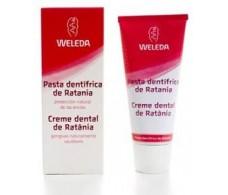 Weleda toothpaste of Ratania 75ml.