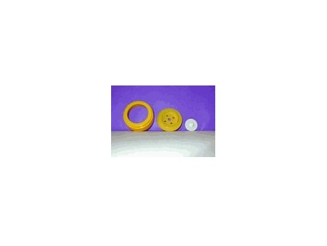 Medela spare parts: Membrane, valve and cover for Softcup - Habe