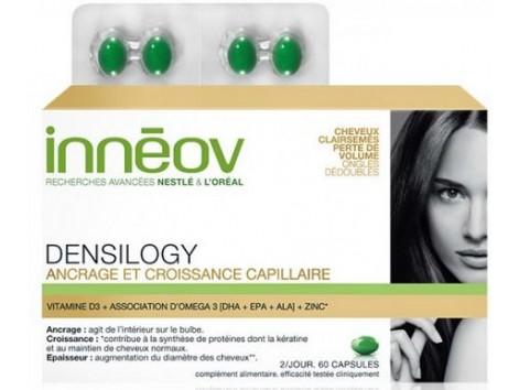 Innéov Densilogy 60 capsules. Replaces Innéov hair mass .