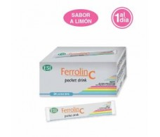 Esi Ferrolin drink 24 C pocket envelopes