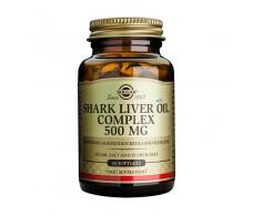 Solgar Aceite de higado de tiburón complex 500 mg 60 cápsulas