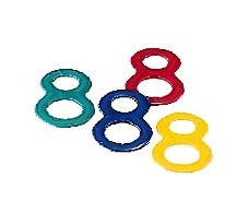 NUK Mordedores de colores 2 unidades