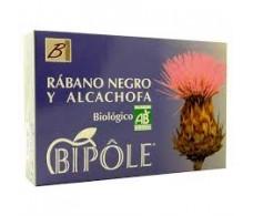 Intersa Bipole Rábano Negro y Alcachofa 20 ampollas