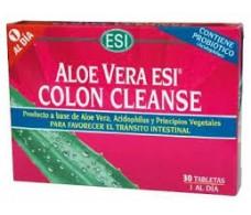 Esi Colon Cleanse aloe vera 30 comprimidos
