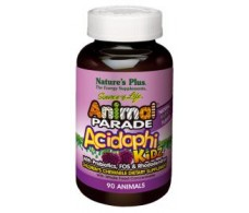 Nature's Plus Animal Parade Acidophikidz 90 chewable tablets