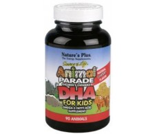 Nature's Plus Animal Parade DHA 90 chewable tablets