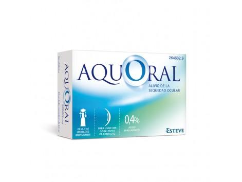 Esteve AQUORAL ® Ophthalmic Drops 20 pods