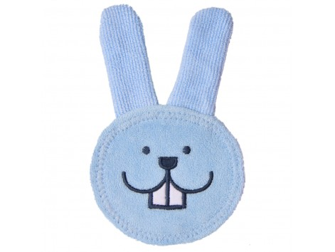 MAM Oral Care Rabbit Blue Clean baby's mouth area