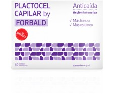 Interpharma Forbald Hair Plactocel 15 ampoules of 5 ml