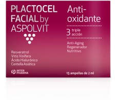 Interpharma Aspolvit Plactocel Facial 15 ampollas de 2 ml
