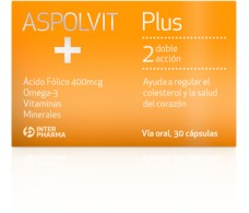 Interpharma Aspolvit Plus 30 Cápsulas