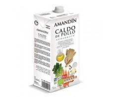 Amandin Caldo de Pollo Ecológico 1 litro
