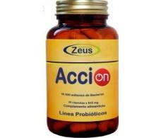 Zeus AcciON probióticos 30 capsulas