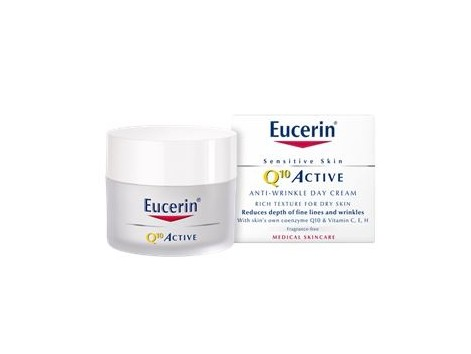 Eucerin Q10 ACTIVE Day wrinkle cream 50 ml dry skin