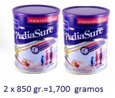 Pediasure Polvo Vainilla 2 x 850 gramos