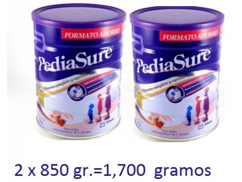 Pediasure Powder Vanilla flavor 2 x 850 grams