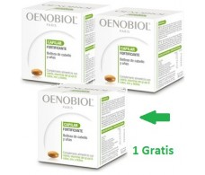 Oenobiol hair and nails. 2 packs + 1 pack gift