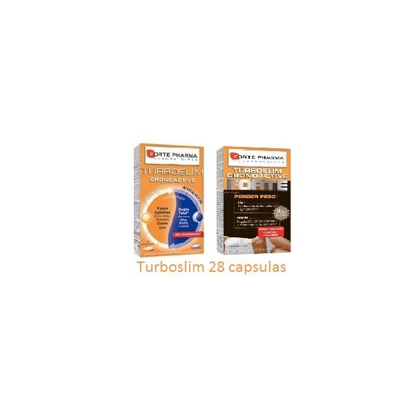 Turboslim Cronoactive+24 en 28 Capsulas - Farmacia