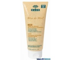 Nuxe Reve de Miel Creme 200ml flux and exfoliating shower.
