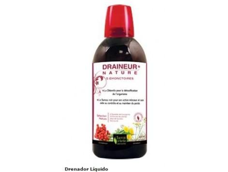 Sante Verte Draineur Nature Draining liquid detox effect 500 ml.