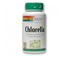 Solaray Chlorella 500 mg 120 comprimidos