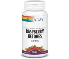 Solaray Ketones Raspberry 100mg 30 cápsulas